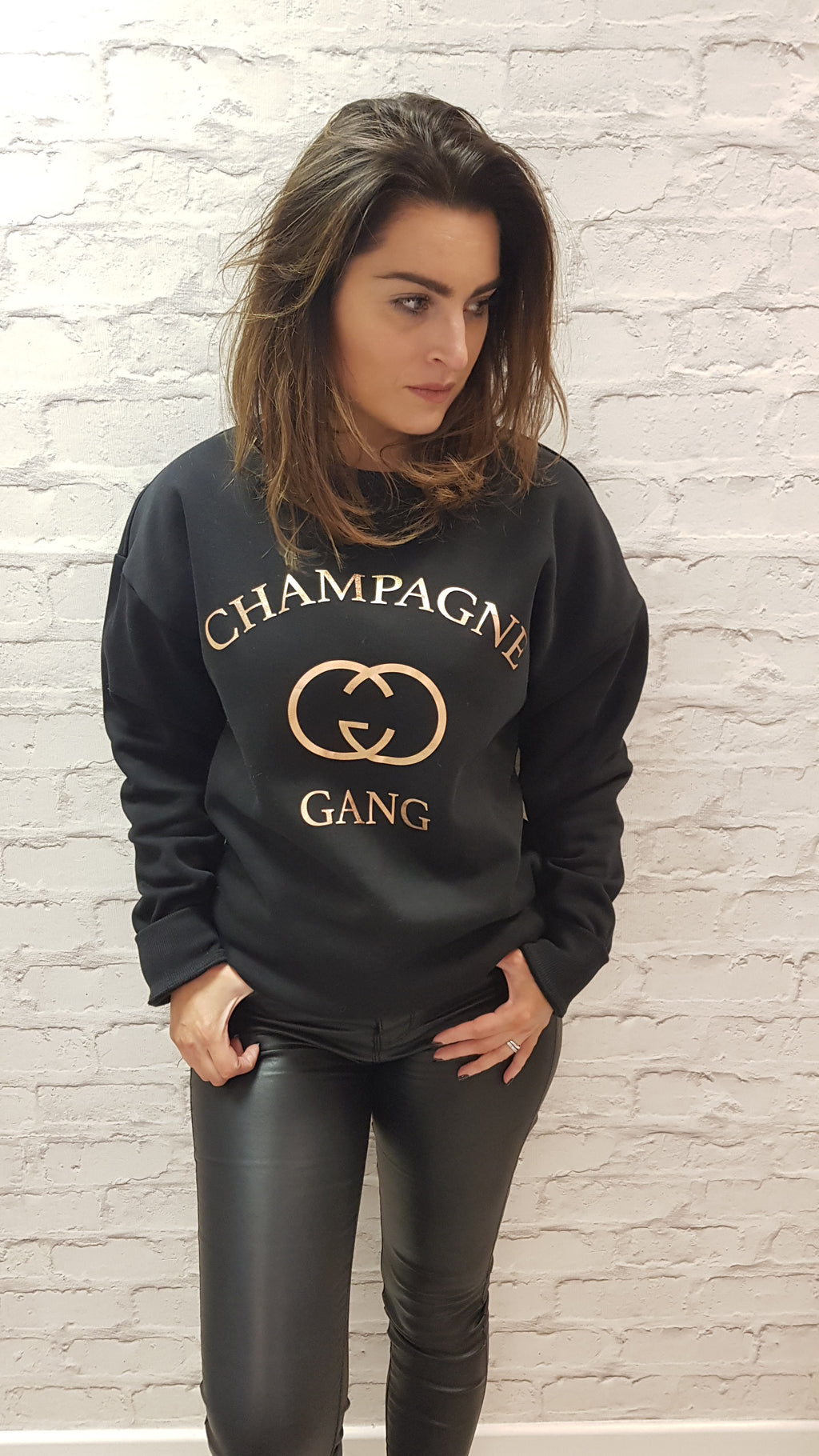 Champagne Club Styled By SOMO - Black