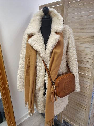 Willow Shearling Aviator Jacket