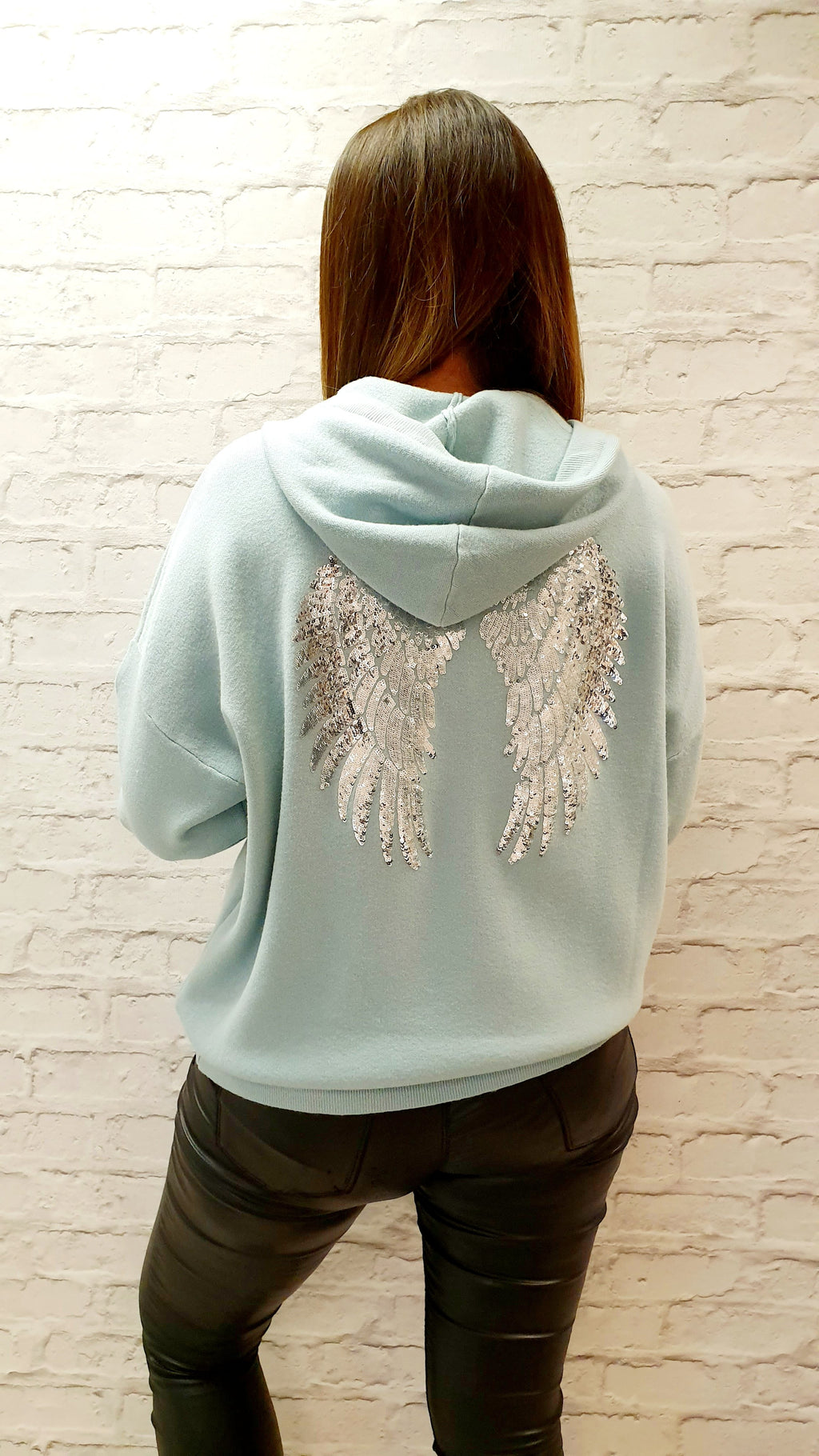 Ruby Angel Wing Hoodie Jumper
