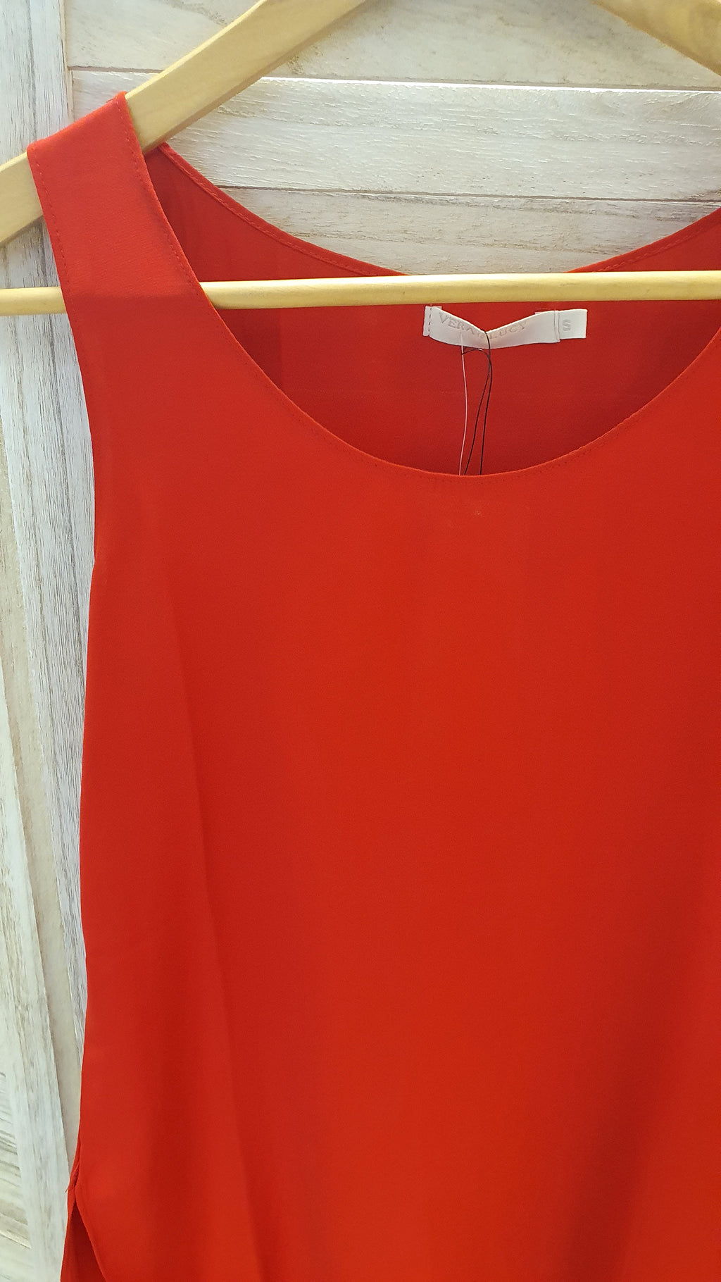 Rouge Red Cami Size 6