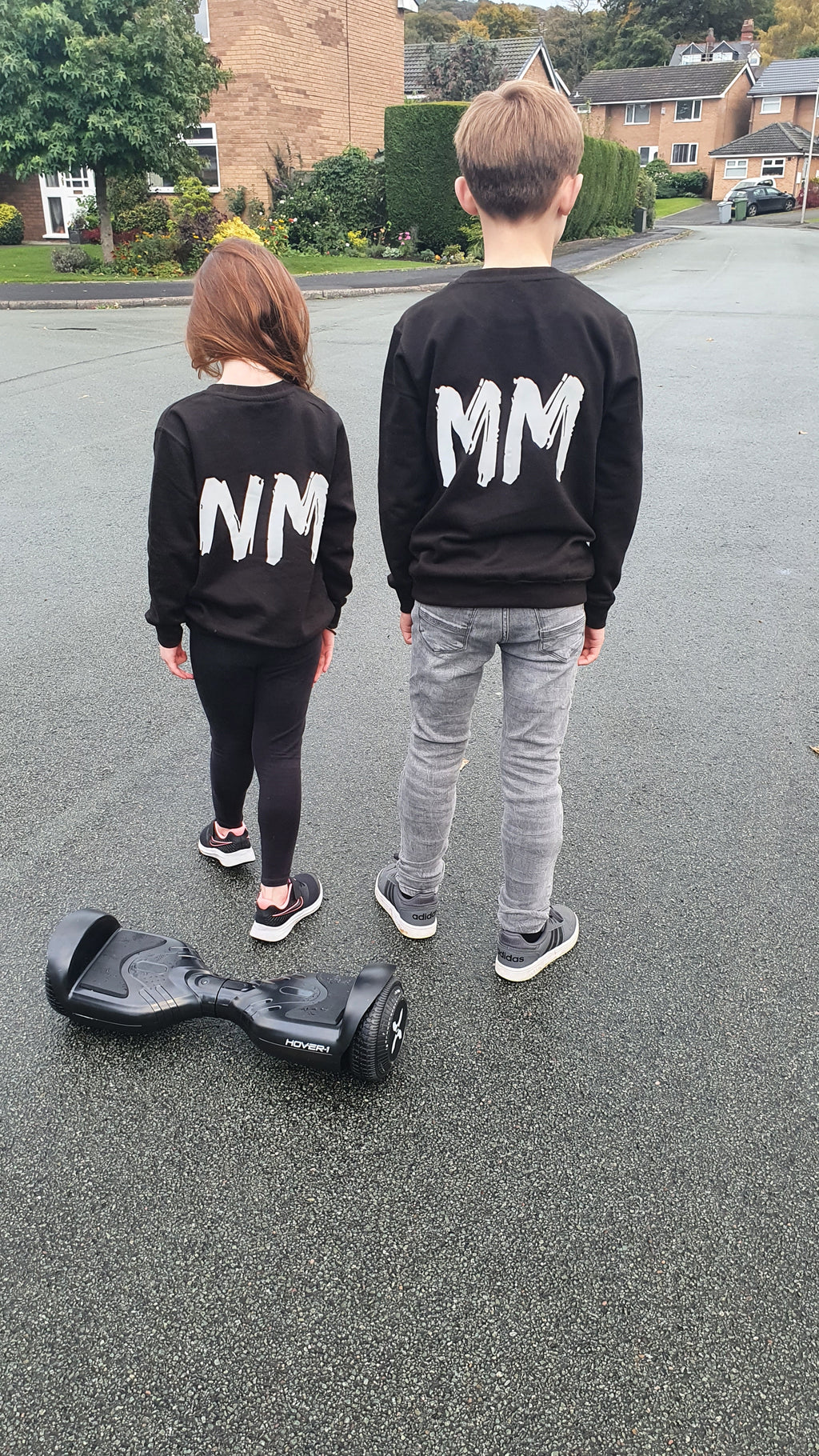 Kids Personalised Sweatshirt - Available in Black & White