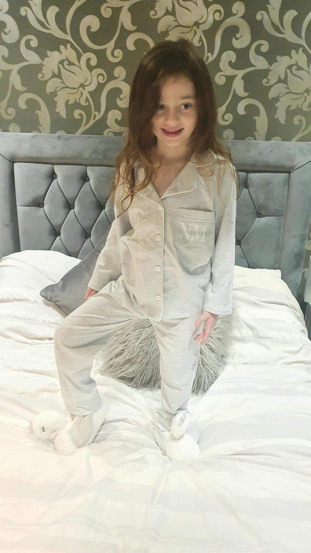 SOMO Mini Cotton Grey Pyjamas - KIDS