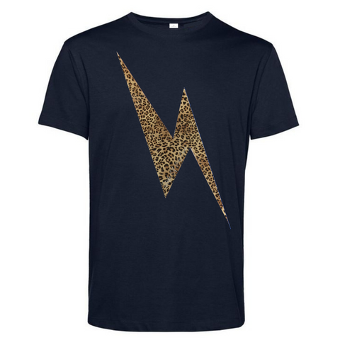 Gold Rainbow Capped Sleeve - Available in Black and White Tees