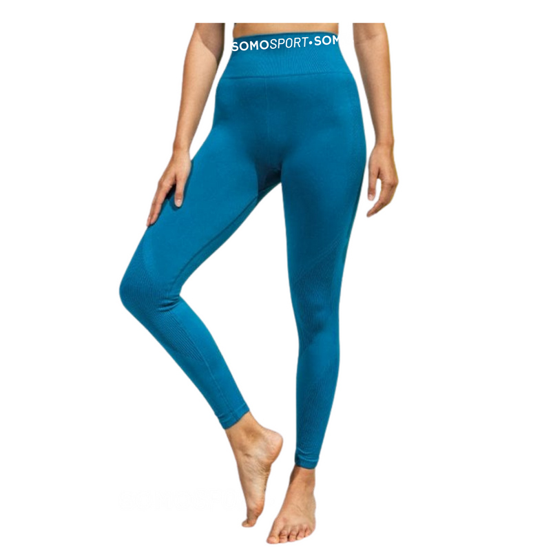 SOMO Sport Gym Leggings - Available in Black, Rust & Blue