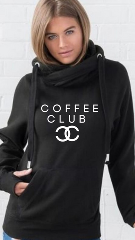 Champagne Club Sweatshirt - Available in Black
