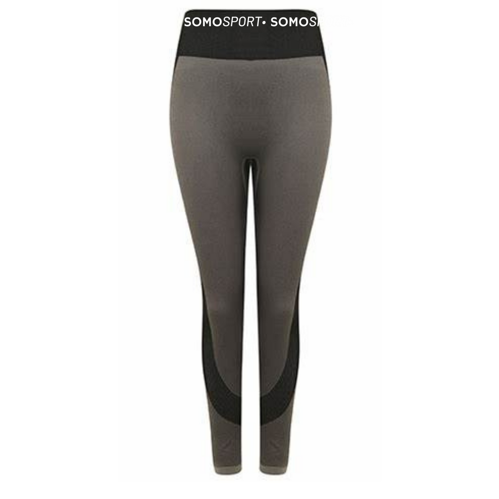 SOMO Sport Panel Gym Leggings - Available in Grey & Blue