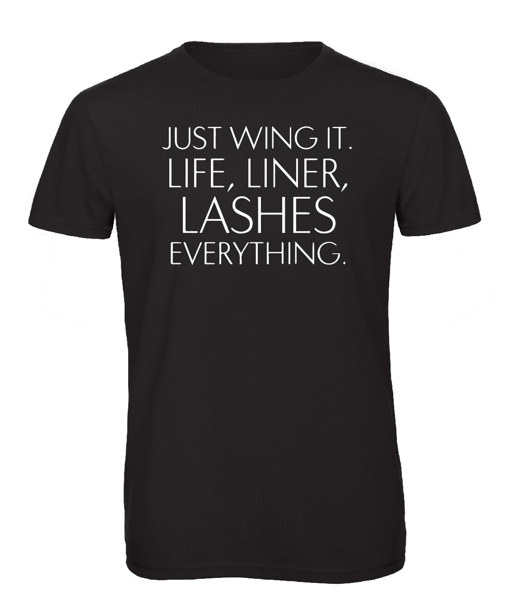 Lashes Crew Neck - Available in Black and White Tees
