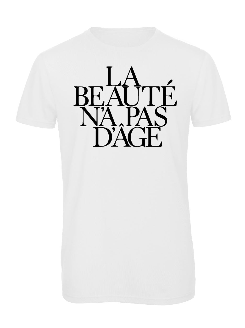 Slogan Tee Beauty - White