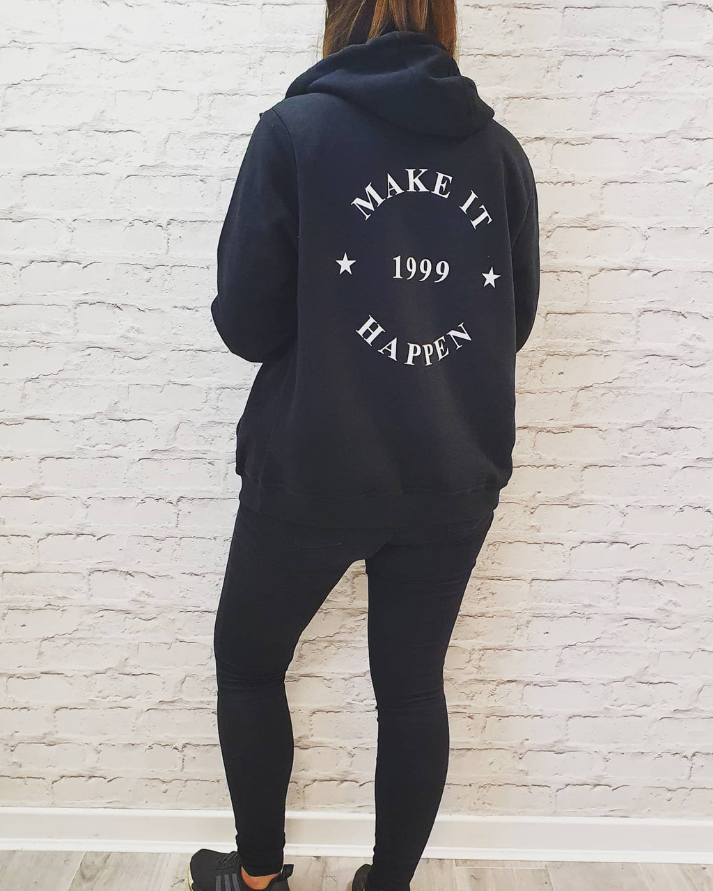 Make It Happen 1999 Classic Hoodie - Available in Black