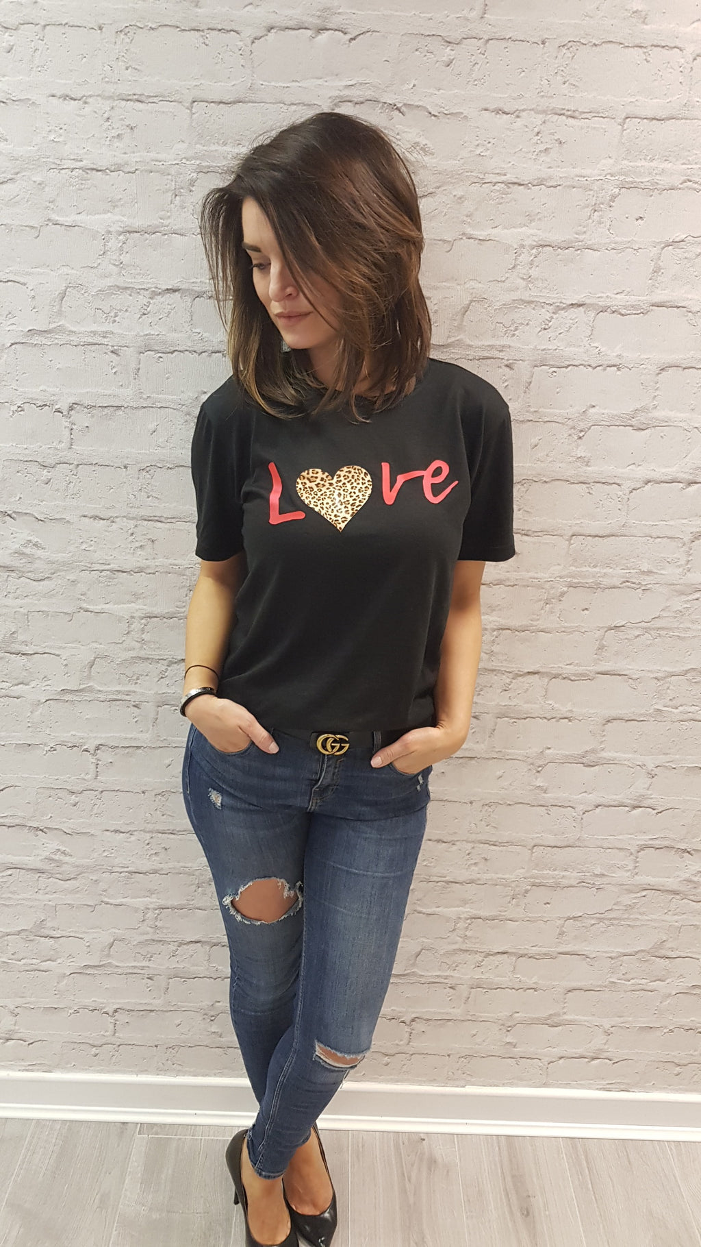 Slogan Tee Love (for the British Heart Foundation)