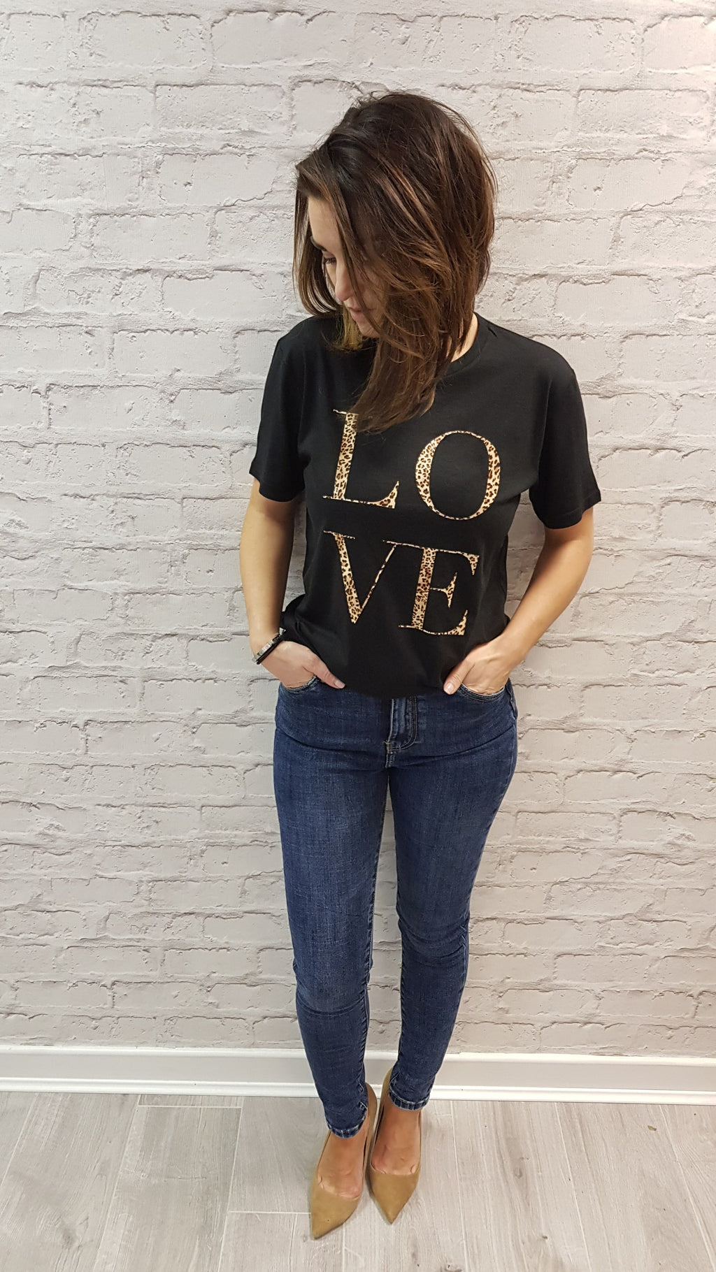 Slogan Tee Chrissi LOVE