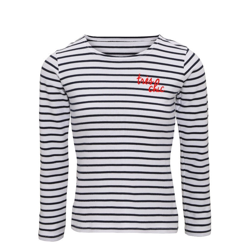Très Chic Striped T-Shirt