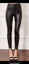 Petra PU leather look leggings