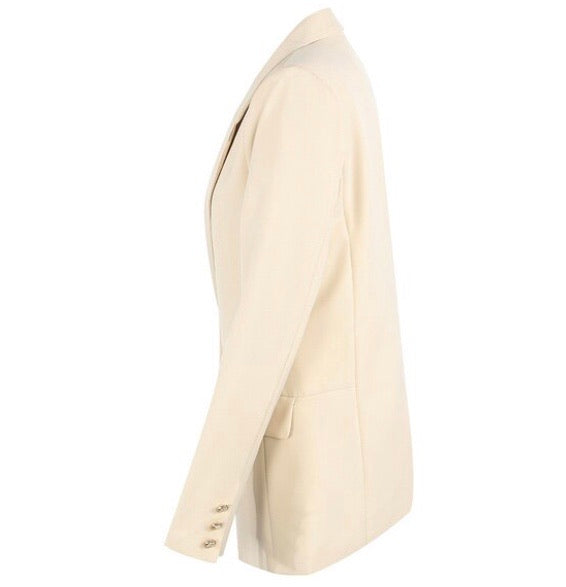 Coll Cream Boyfriend Fit Blazer SIZE 12 ONLY