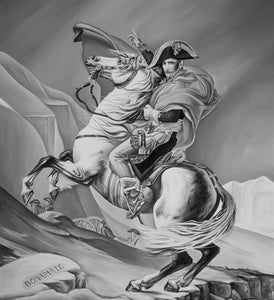 NAPOLEON CROSSING THE ALPS (PAINTING)
