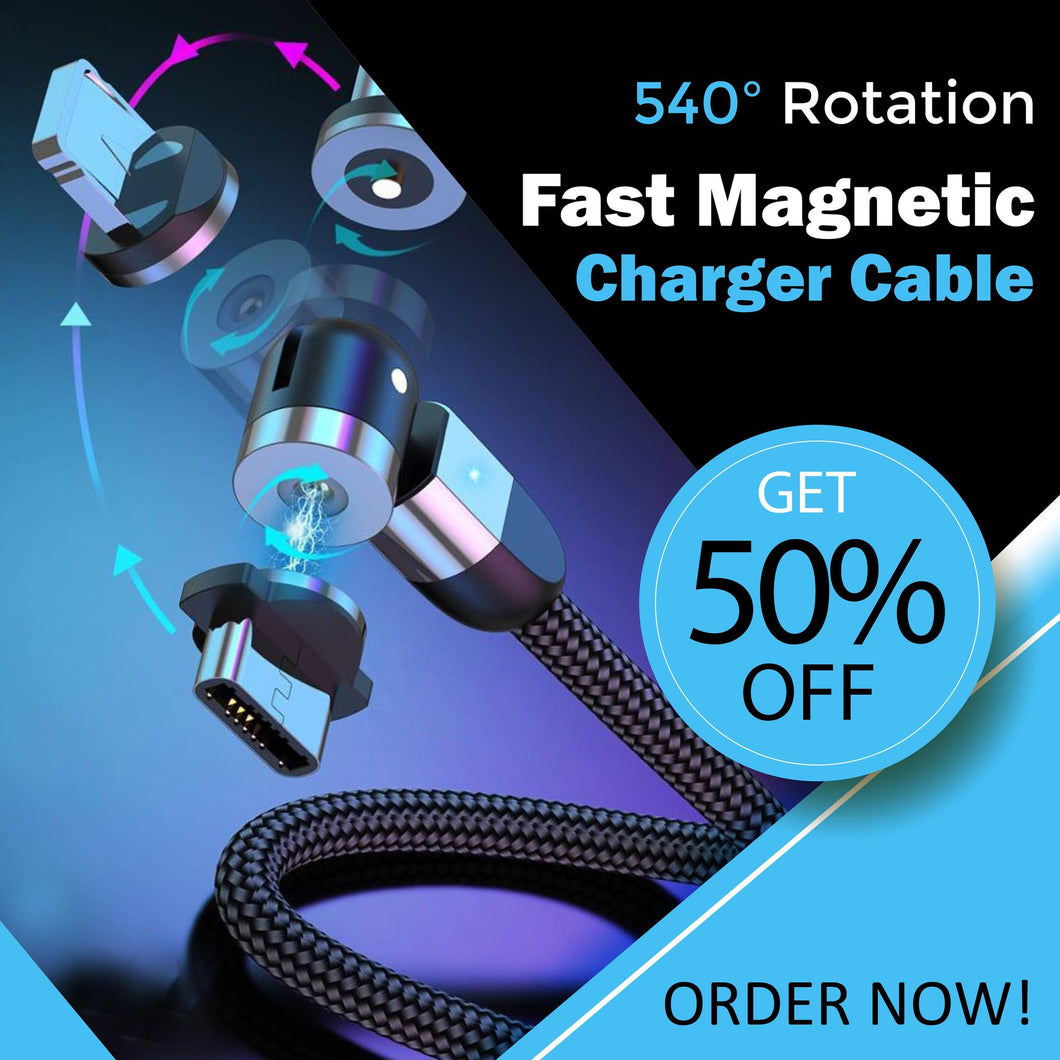 All-Rotate Magnetic Charger
