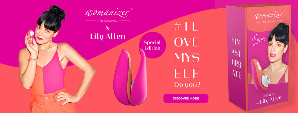 Womanizer Liberty by Lily Allen Liberty 陰蒂吸啜器