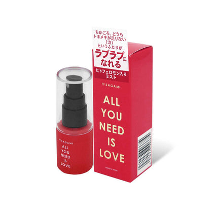 LEXY ® 香港成人用品商店 SAGAMI ALL YOU NEED IS LOVE 費洛蒙香水噴霧 30 毫升