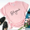 Blessed Womens Summer Short Sleeve T-Shirt