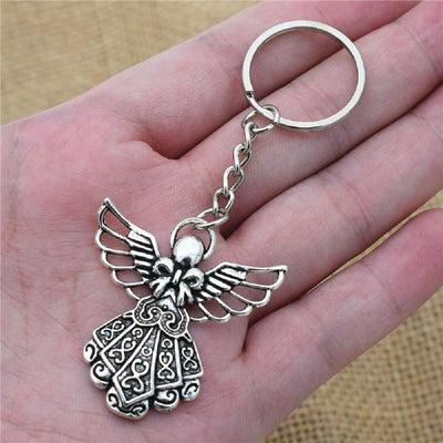 Guardian Angel Pendant Key Chain