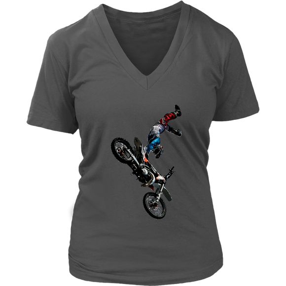 Biker T-Shirt | Women's V-Neck