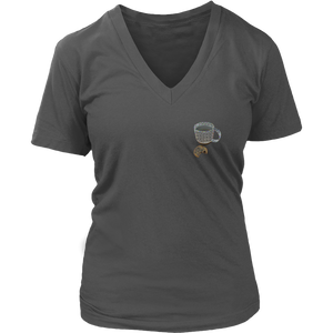 Coffee and Cookie | Women's V-Neck