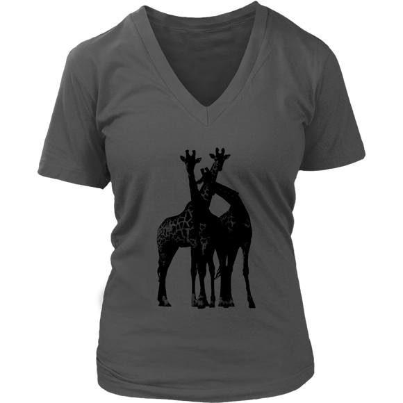 Giraffe 2.0 T-Shirt | Women's V-Neck