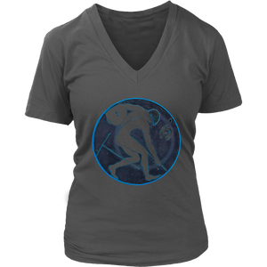 Discobolus T-Shirt | Women's V-Neck