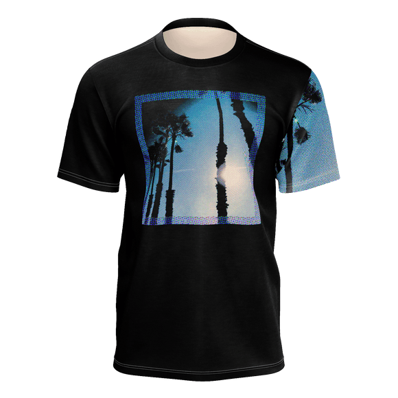 Palm Trees | Men's Crew Neck T-Shirt