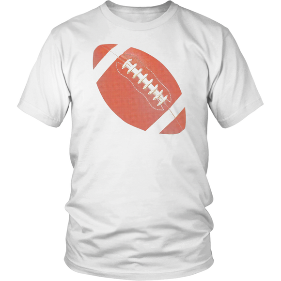 Football T-Shirt | Unisex Crew Neck