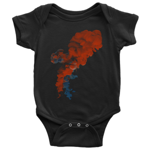 Red Smoke | Baby Bodysuit