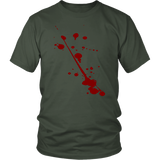 Splatter T-Shirt | Halloween Unisex Crew Neck