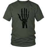 Skeleton Hand T-Shirt | Halloween Unisex Crew Neck