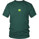 Tennis Ball T-Shirt | Unisex Crew Neck