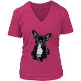Sweet Puppy T-Shirt | Women's V-Neck