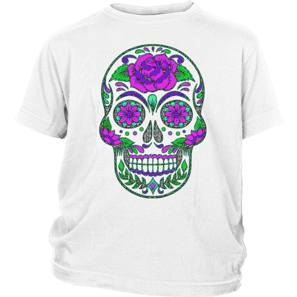 Sugar Skull | Halloween Kid's T-Shirt