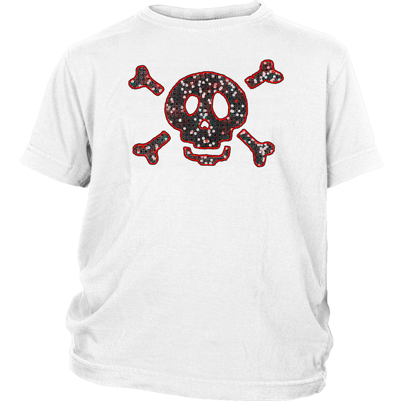 Skull T-Shirt | Halloween Kid's T-Shirt