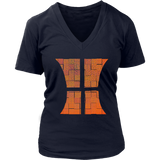 Basketball T-Shirt | Women's V-Neck