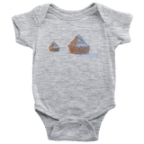 Monet Wheatstacks | Baby Bodysuit