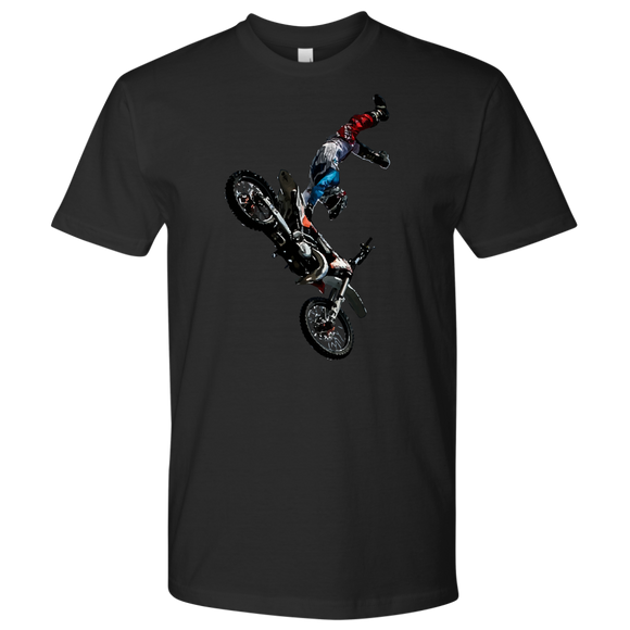Biker T-Shirt | Men's Crew Neck