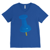 Thumbtack T-Shirt | Men's V-Neck