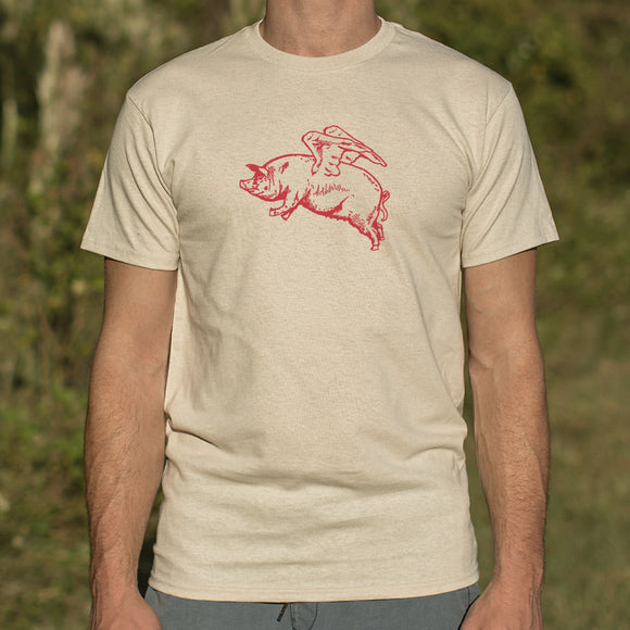 Flying Pig T-Shirt | Men's Crew