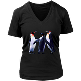 Penguins T-Shirt | Women's V-Neck