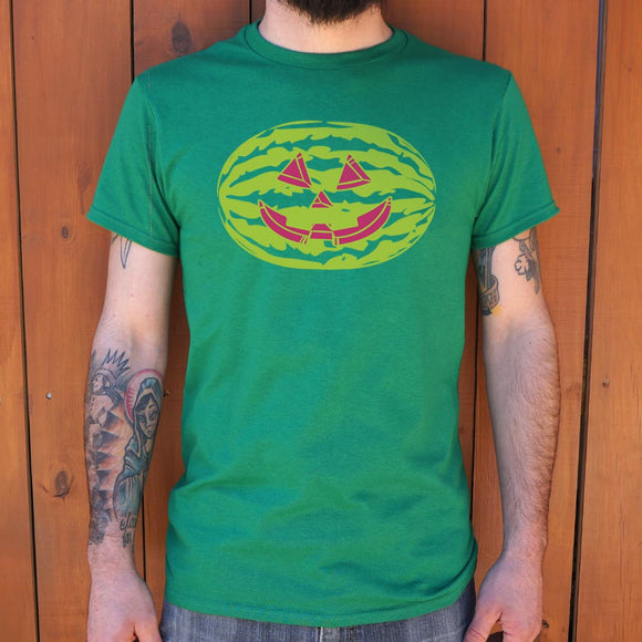 Jack O'Melon T-Shirt | Halloween Men's Crew