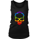 Gay Skull Tank | Halloween Women's Tank