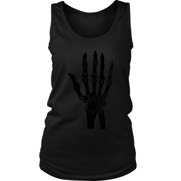 Skeleton Hand Tank | Halloween Women's Tank