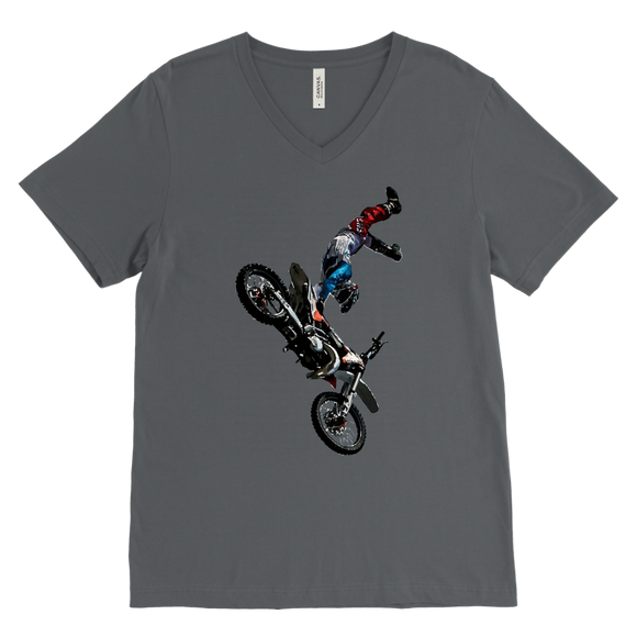 Biker T-Shirt | Men's V-Neck