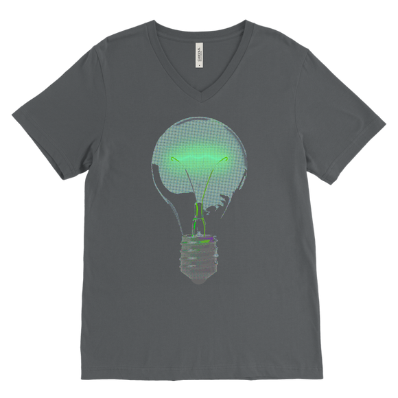Light Bulb T-Shirt | Men's V-Neck