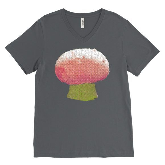 Mushroom T-Shirt | Men's V-Neck
