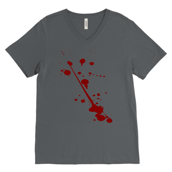Splatter T-Shirt | Halloween Men's V-Neck